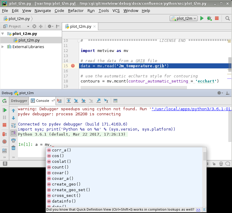 Pycharm install jupyter notebook to the interpreter of the